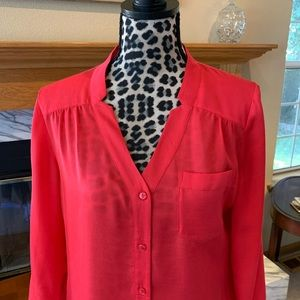 Chico's poppy blouse